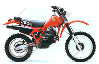 HONDA XR250 1981 and 1982