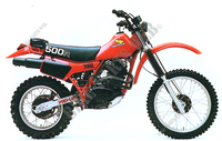 HONDA XR500 1981 and 1982