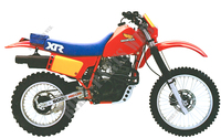 HONDA XR500 1983 and 1984